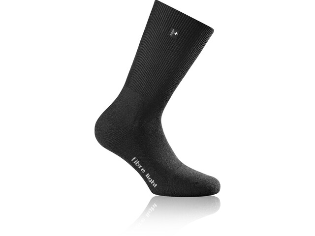 Rohner Fibre Light SupeR Calcetines, black